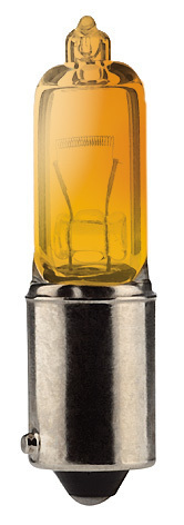 Ampoule H21W BAY9S 21W 12V ORANGE AMBRE