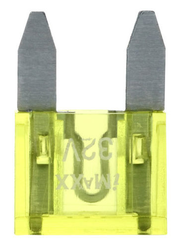 20A MINI-FUSIBLE JAUNE 10MM