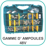 Gamme 48V Ampoules