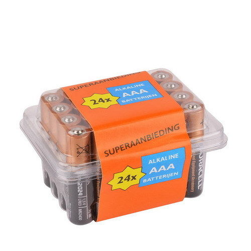 PACK 24x AAA DURACELL Alkaline 1.5V